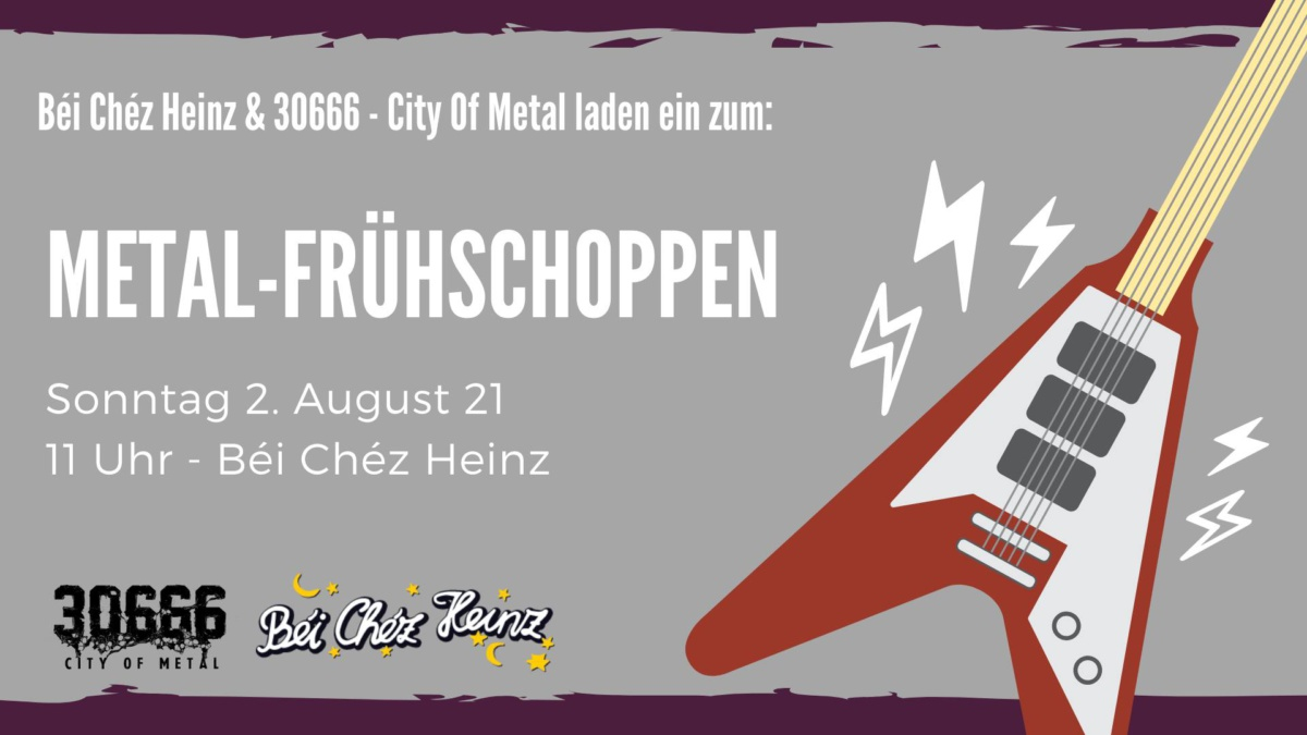 Metal Frühschoppen Béi Chéz Heinz Hannover