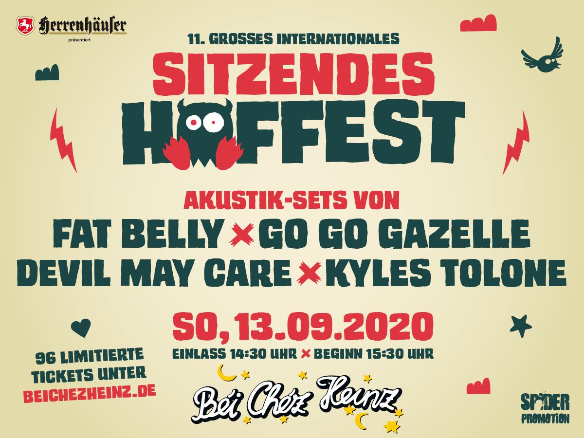 11. Grosse Internationale Sitzende Hoffest in Hannover