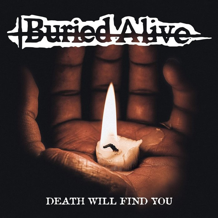 Buried Alive - Death Will Find You Albumcover