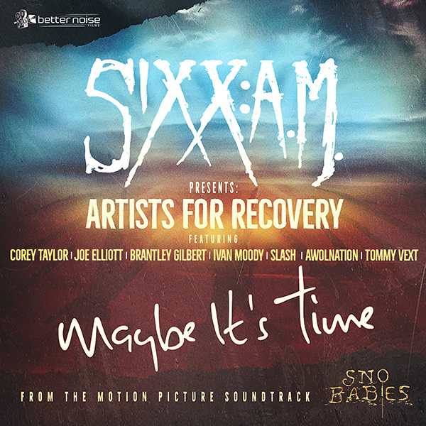 Sixx:A.M. Artists For Recovery News