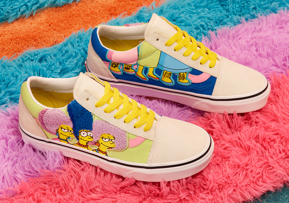 The Simpsons x Vans