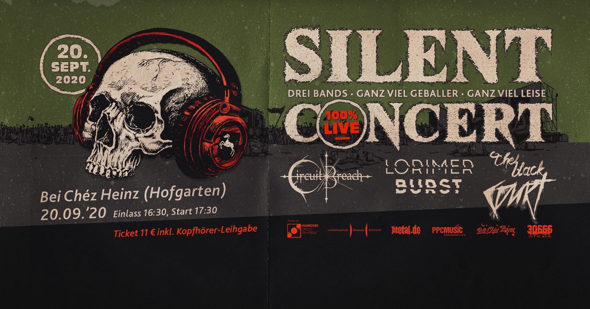 Silent Konzert Béi Chéz Heinz Hannover