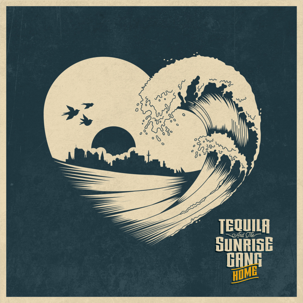Tequila And The Sunrise Gang Home Albumcover