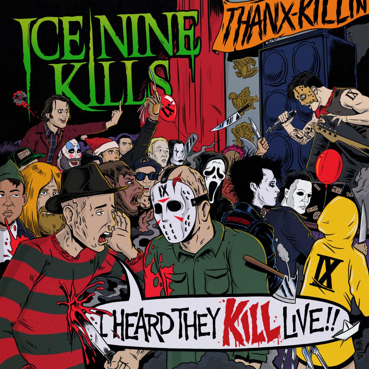 Ice Nine Kills - I Heard They Kill Live Albumcover