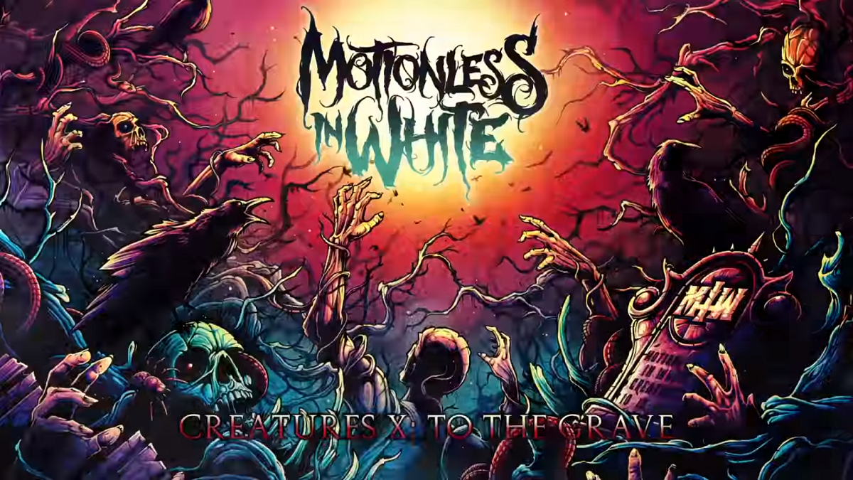 Motionless In White - Creatures News