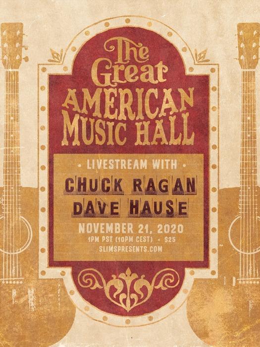 Chuck Ragan & Dave Hause live aus der Great American Music Hall News