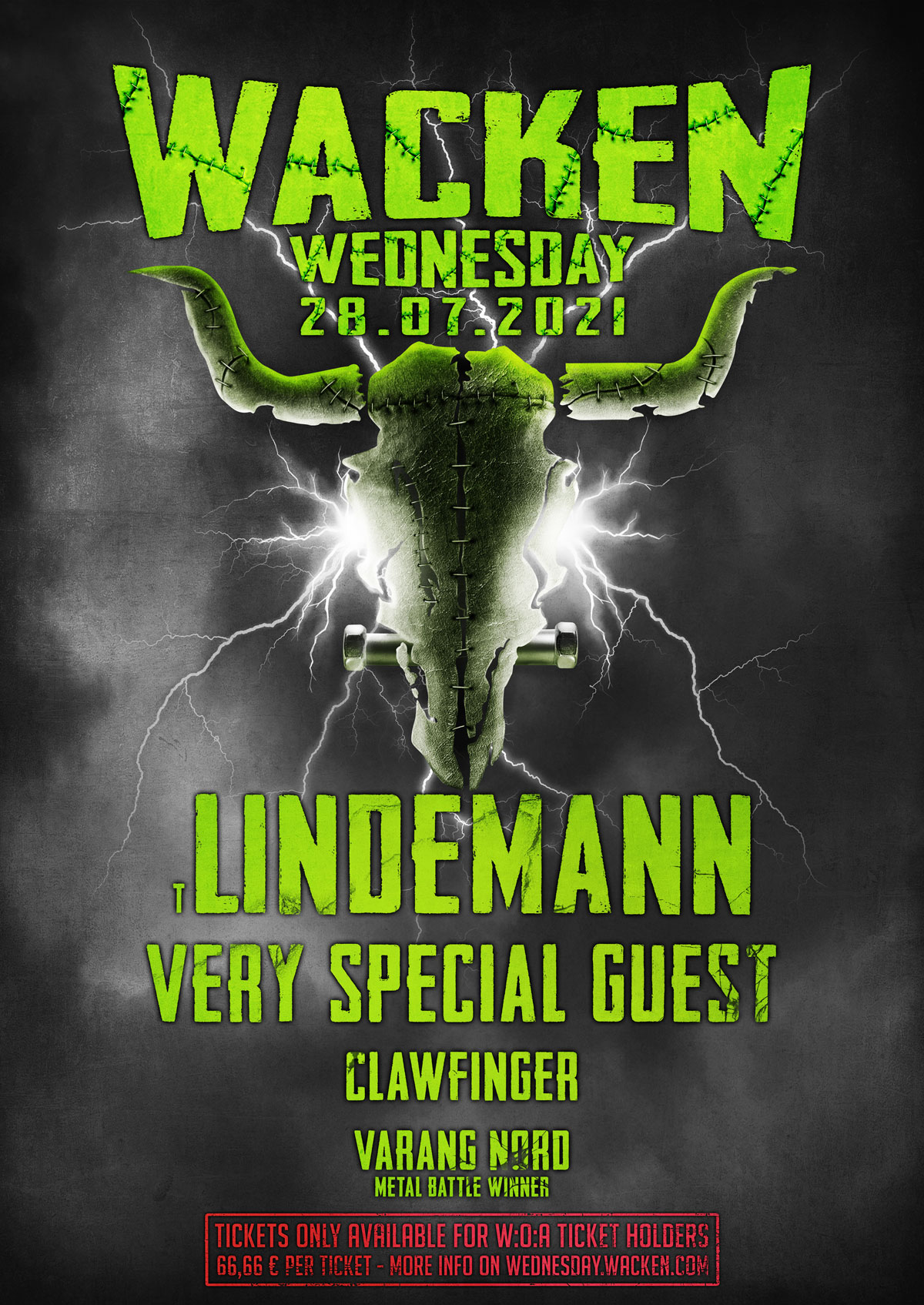 Wacken Wednesday 2021 News