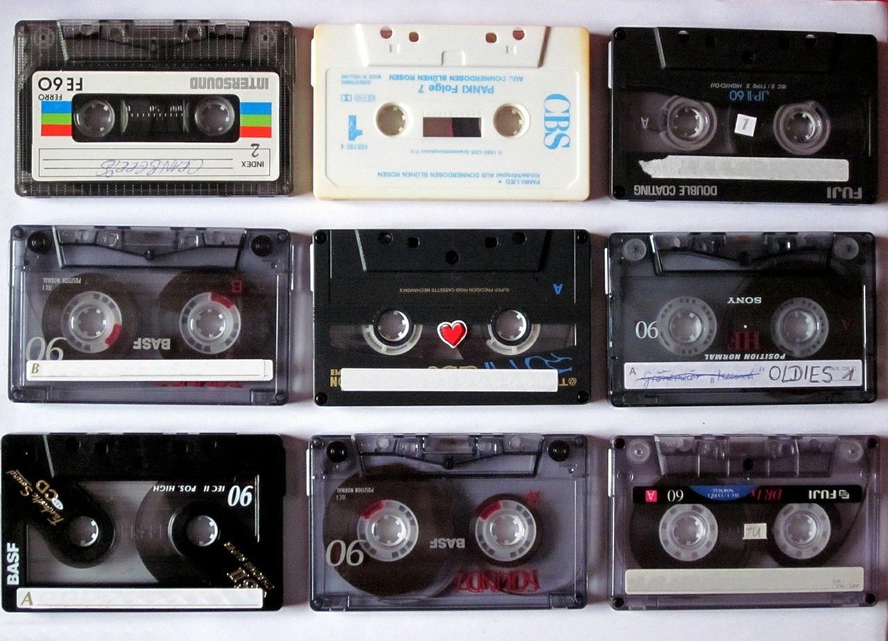 music-cassette-news tracks der woche