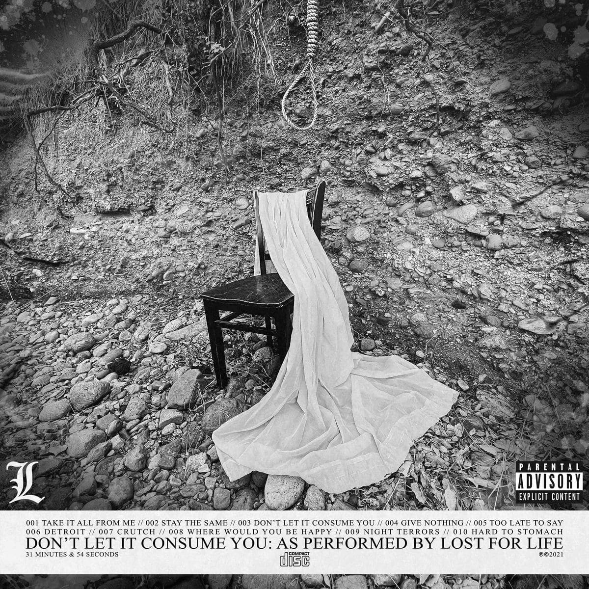 Lost For Life - Don't Let It Consume You Cover