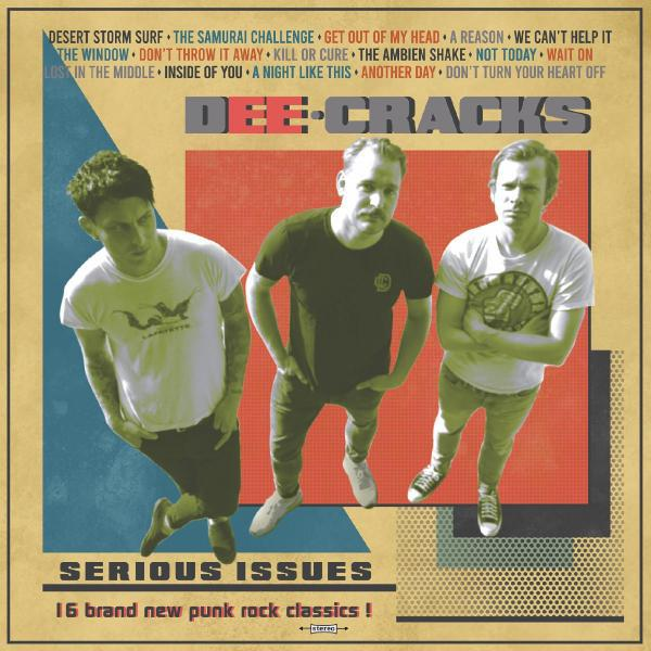 Dee Cracks - Serious Issues Albumcover
