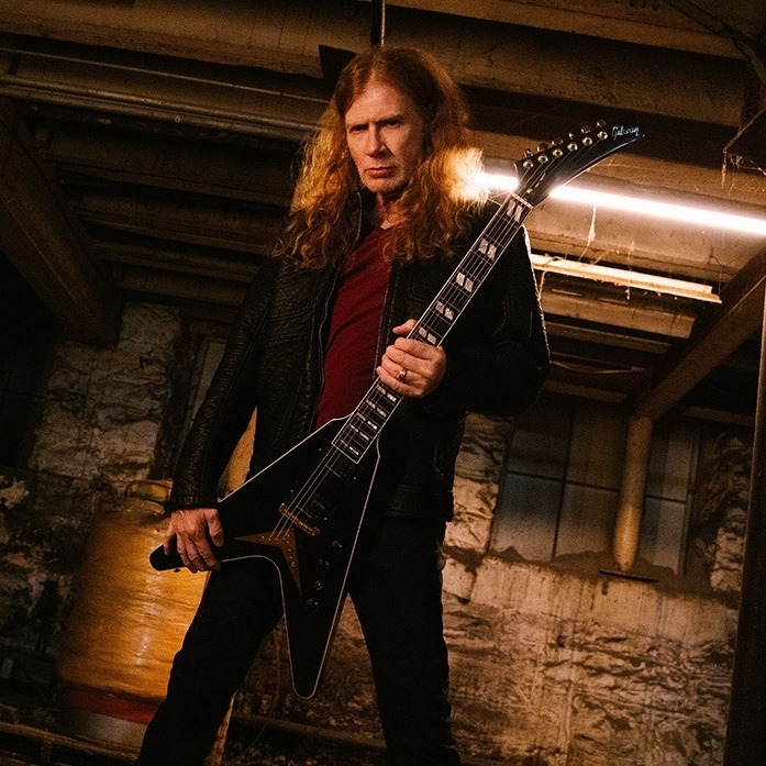 Megadeth Dave Mustain