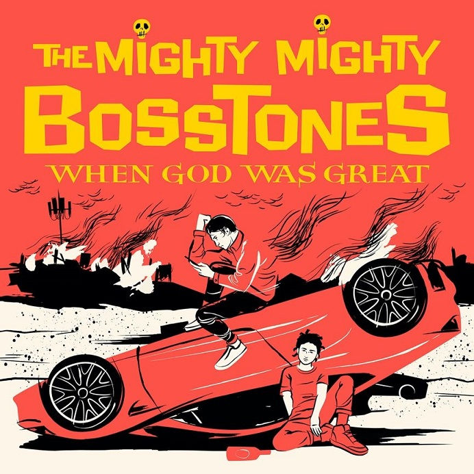 The Mighty Mighty Bosstones When God Was Great Albumcover