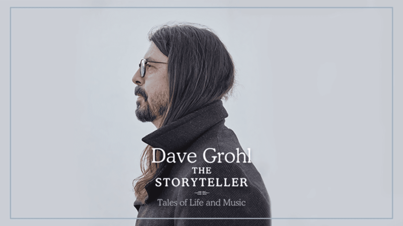 Dave Grohl - Storyteller News