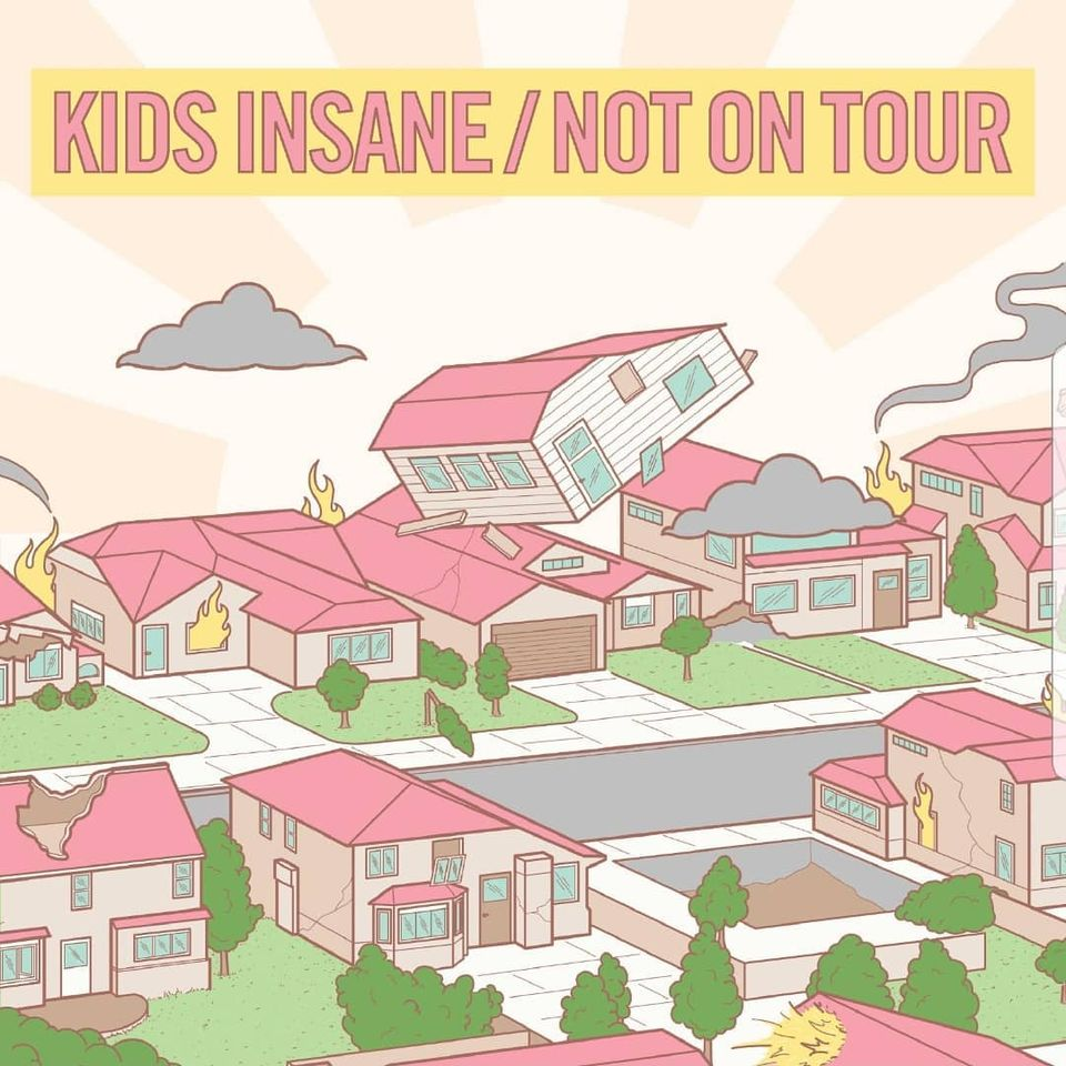 Kids Insane Not On Tour Split Albumcover