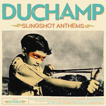Duchamp Slingshot Anthems Albumcover